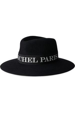 Maison Michel Femme Chapeaux - Fédora Charles à bande logo