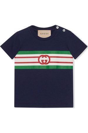 Gucci Polo à imprimé monogrammé
