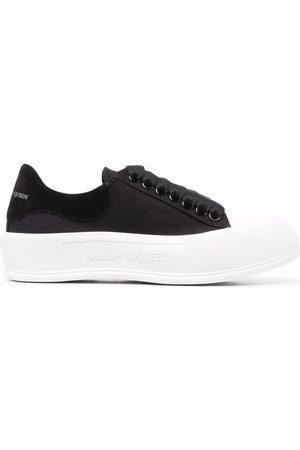 Alexander McQueen Oversize-sole lace-up sneakers