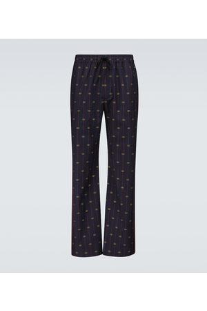 Gucci Pantalon GG en laine
