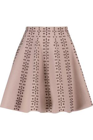 Alaïa Mini-jupe en jacquard