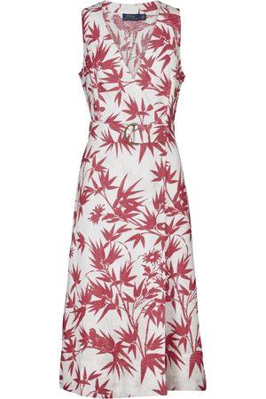 Polo Ralph Lauren Robe longue à fleurs en lin
