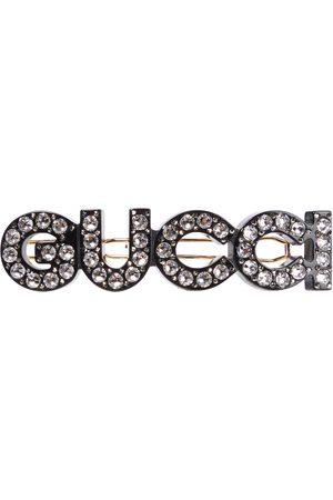 Gucci Barrette à ornements et logo