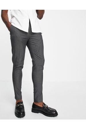 ASOS DESIGN Homme Chinos - Pantalon habillé super ajusté à petits pois