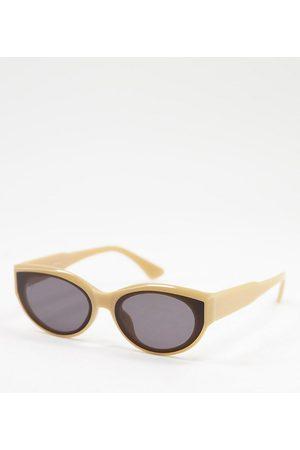 Jeepers Peepers Exclusivité ASOS - - Lunettes de soleil pour femme à monture yeux de chat - mat