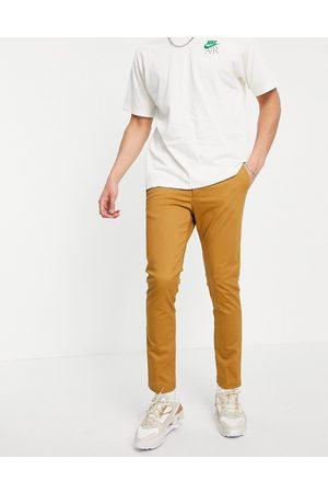 New Look Homme Chinos - Pantalon chino ajusté - Fauve