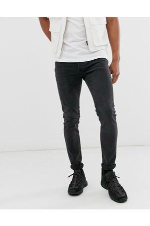 Topman Jean skinny stretch - délavé