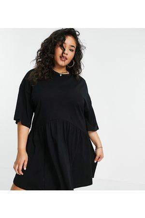 ASOS ASOS DESIGN Curve - Robe babydoll courte oversize à taille basse