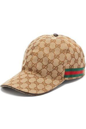Gucci Casquette à logo GG et bandes Web