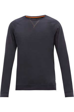 Paul Smith T-shirt manches longues jersey de coton à insert Y