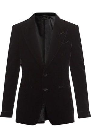 Tom Ford Homme Costumes - Veste de smoking en velours Shelton