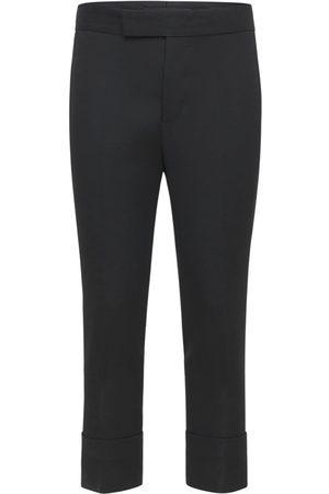 SAPIO Pantalon Slim En Laine Granitée