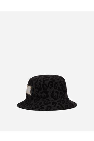 Dolce & Gabbana Chapeaux et Gants - Bob à imprimé léopard floqué male 58