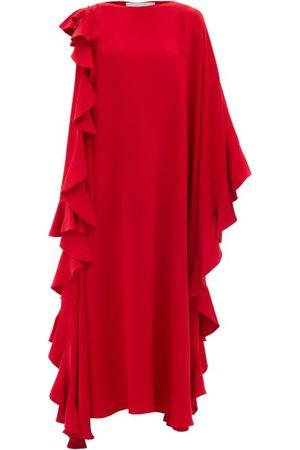 VALENTINO Femme Robes de soirée - Robe de soirée en crêpe de soie Waterfall