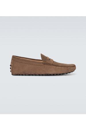 Tod's Chaussures Gommino en suède