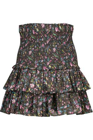 Isabel Marant, Étoile Mini-jupe Naomi en coton à fleurs