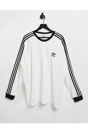 adidas Originals Adicolor - T-shirt manches longues à trois bandes