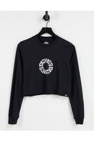 Dickies Femme Manches longues - T-shirt manches longues à imprimé globe au dos