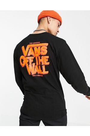 Vans Cellar - T-shirt à manches longues avec imprimé au dos