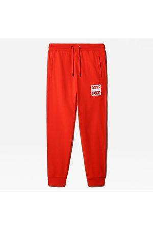 The North Face Pantalon De Jogging International Collection Pour Homme Fiery Red Taille L Standard