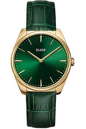 Cluse Montre - Feroce CW0101212006 Gold/Green