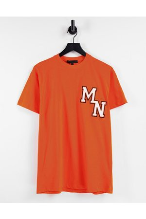 Mennace T-shirt avec broderie style universitaire