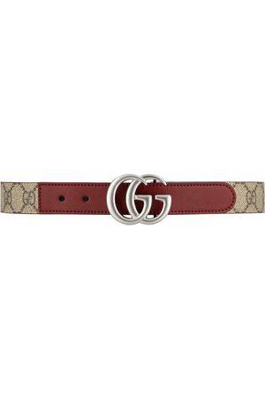 Gucci Garçon Ceintures - Ceinture à plaque logo GG