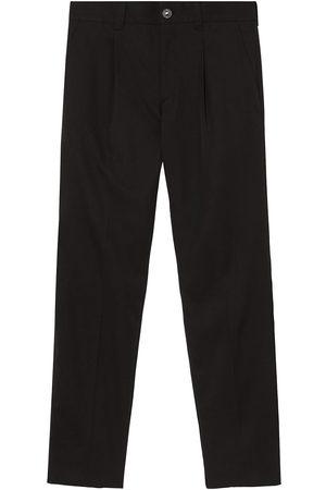 Burberry Pantalon de costume en laine