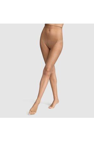Dim Femme Collants - Collant effet nus-pieds 17d teint de soleil