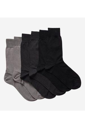 Galeries Lafayette Lot de 3 paires de chaussettes en pur coton