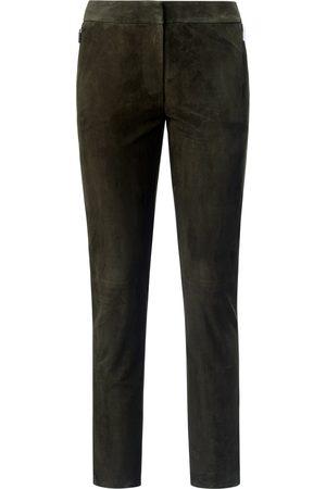 fadenmeister berlin Femme Pantalons en cuir - Le pantalon cuir longueur chevilles