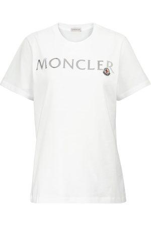 Moncler T-shirt en coton à logo