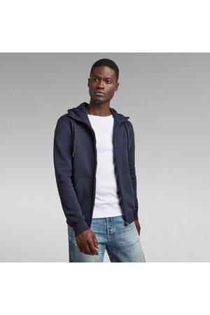 G-Star Hommes Sweat à capuche zippé Premium Core foncé