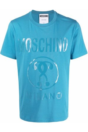 Moschino Double Question Mark-print T-shirt