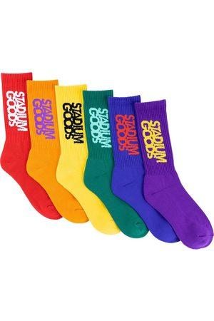 Stadium Goods Lot de 6 paires de chaussettes 'Pride Pack