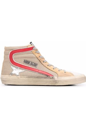 Golden Goose Femme Baskets - Star-patch lace-up sneakers