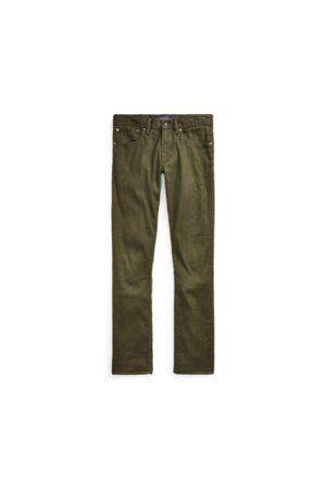 Ralph Lauren Jean slim stretch en lin et coton