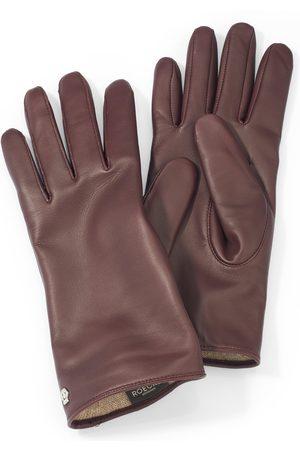 Roeckl Les gants cuir nappa mouton mauve