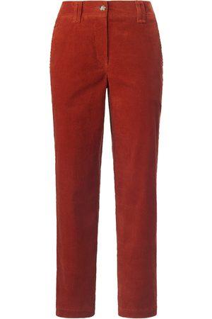 DAY.LIKE Le pantalon 7/8 modèle Wide Leg velours côtelé