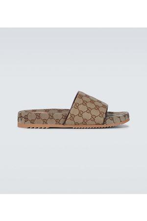 Gucci Homme Mules & Sabots - Mules en toile GG Supreme