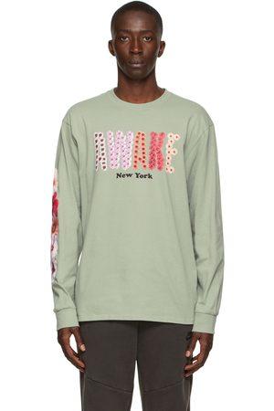AWAKE NY T-shirt à manches longues Bloom noir