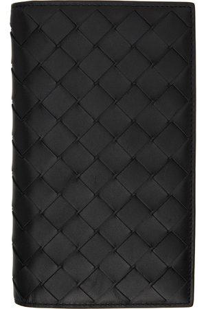 Bottega Veneta Homme Portefeuilles - Portefeuille long noir à poche amovible
