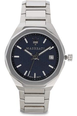 Maserati Homme Montres - Montre - Stile R8853142006 Silver/Navy