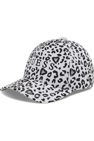 Guess Casquette - Allie Animalier AGALL1 CO213 WHITE