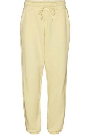 Vero Moda Taille Haute Jogging En Molleton Women yellow