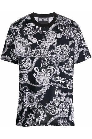 VERSACE T-shirt à imprimé Baroque