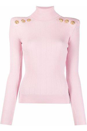 Balmain Ribbed-knit jumper