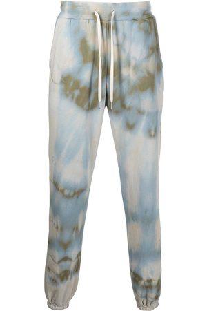 John Elliott Pantalon de jogging LA à imprimé tie dye