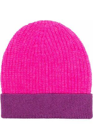Pinko Bonnet bicolore en maille