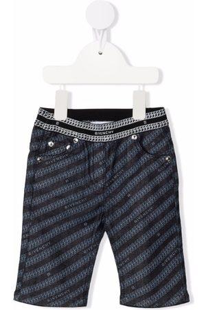 Givenchy Kids Pantalon slim à logo imprimé